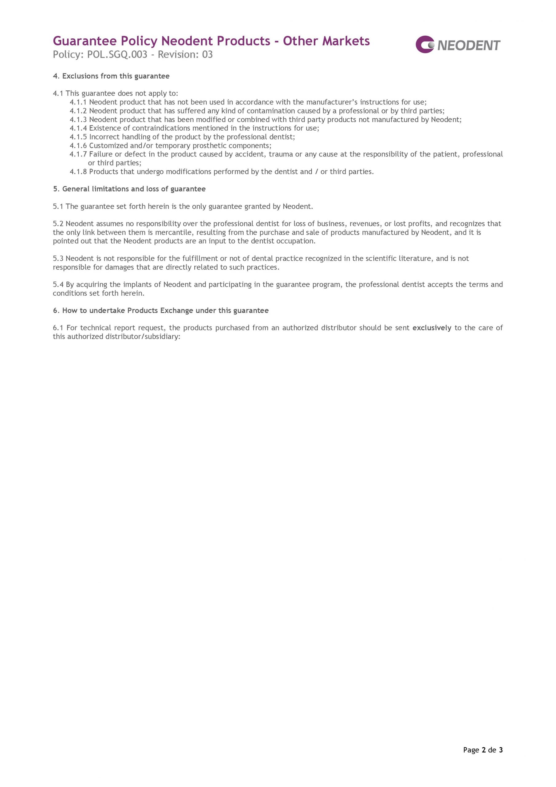 politica-garantie-implant-neodent-page