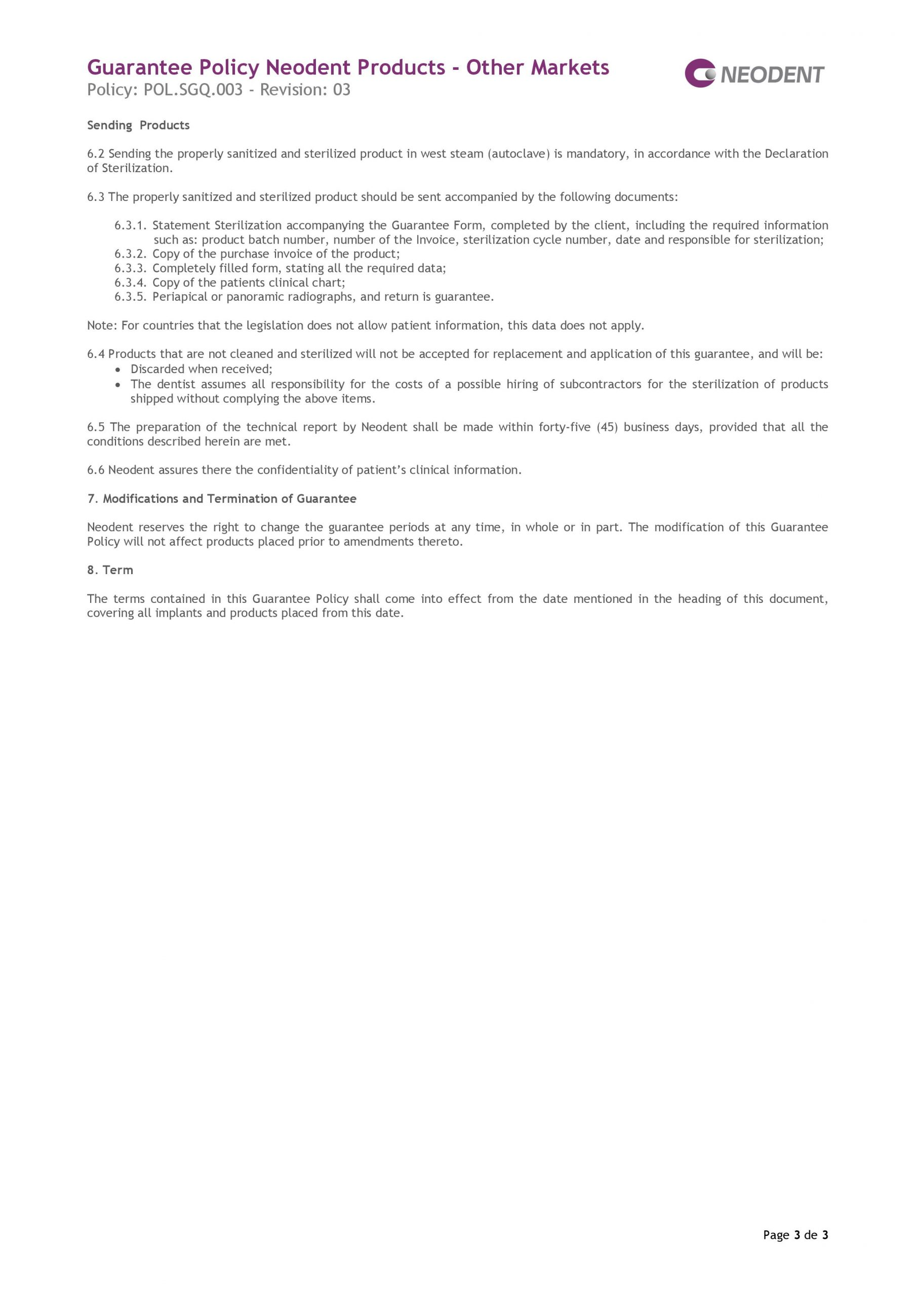 politica-garantie-implant-neodent